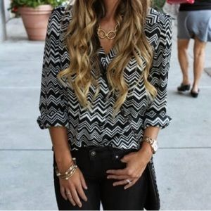 Missoni for Target chevron top